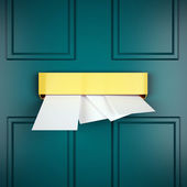 Mail Letters Represents Sent Communicate And Post — Stock Photo