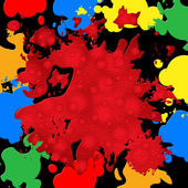 Splash Background Represents Paint Colors And Spatter — Stock Photo