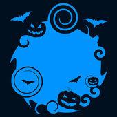 Pumpkin Halloween Indicates Trick Or Treat And Celebration — Stock Photo