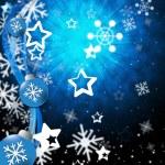 Xmas Balls Indicates Christmas Ornament And Celebration — Stock Photo #48836859
