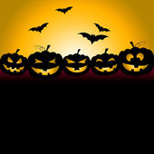 Bats Halloween Indicates Trick Or Treat And Celebration — Stock Photo