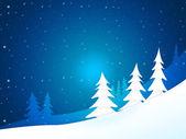 Xmas Tree Shows New Year And Celebration — Stock Photo