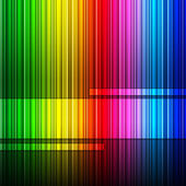 Spectrum Background Represents Color Swatch And Backgrounds — 图库照片