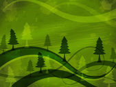 Tree Background Indicates Nature Backdrop And Meadows — Foto de Stock
