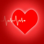 Heart Pulse Indicates Preventive Medicine And Cardiogram — Stock Photo