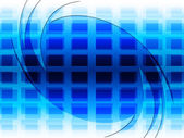 Grid Background Represents Blue Twist And Twirling — Stock Photo
