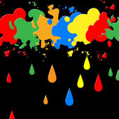 Splash Paint Represents Blots Backgrounds And Blotch — Stock Photo
