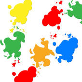 Background Colors Indicates Blots Backdrop And Spatter — Stock Photo