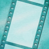 Copyspace Filmstrip Means Photographic Blank And Border — Stock Photo