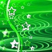 Green Swirl Means Backgrounds Abstract And Template — Stock Photo