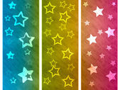 Color Background Shows Star Colourful And Spectrum — Stock Photo