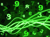 Mathematics Numbers Means Learn Learned And Numerical — Stock Photo