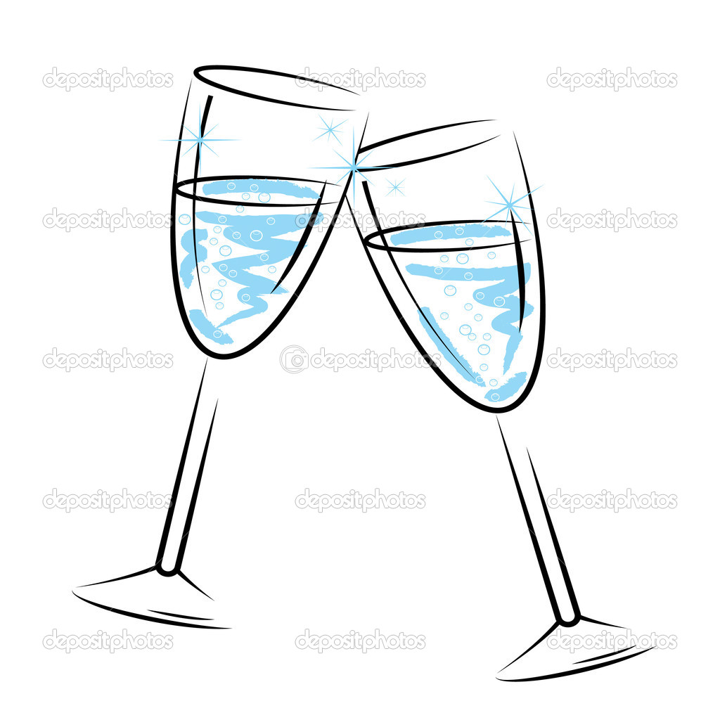 Celebration Champagne Glasses