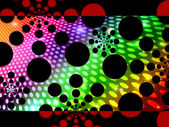 Dots Background Means Decorative Round Spots And Pattern — Stock Photo