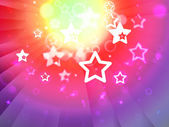 Stars Background Shows Shining Stars Or Glittery Desig — Stock Photo