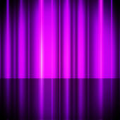 Purple Curtains Background Shows Theater Or Stag — Stock Photo