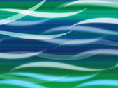 Sea Waves Background Means Curvy Light Ripple — Stock Photo