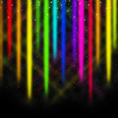 Colorful Streaks Background Shows Space And Colors Displa — Stock Photo