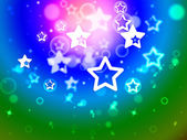 Stars Background Means Star Pattern Or Fantasy Effec — Stock Photo