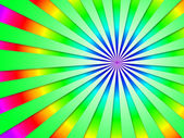 Colourful Dizzy Striped Tunnel Background Shows Futuristic Dizzy — Stock Photo