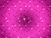 Pink Squares Background Means Twinkling Pattern And Part — ストック写真