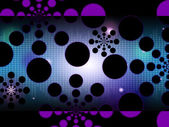 Dots Background Shows Spots Or Circular Shape — Stock Photo