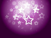 Stars Background Means Fantasy Wallpaper Or Sparkling Desig — Stock Photo