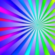 Постер, плакат: Colourful Dizzy Striped Tunnel Background Means Dizzy Abstractio