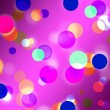 Purple Spots Background Means Glowing Dots And Roun — Stock Photo