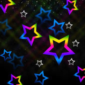 Sky Stars Background Means Twinkling In Spac — Foto de Stock