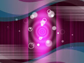 Pink Circles Background Means Round And Ripple — 图库照片
