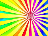 Colourful Dizzy Striped Tunnel Background Shows Dizzy Illustrati — Stock Photo