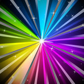 Colorful Rays Background Means Shining Colors And Sparkle — Stock Photo
