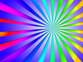 Colourful Dizzy Striped Tunnel Background Means Dizzy Abstractio — Stock Photo