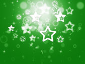 Stars Background Shows Glitter Stars Or Glowing Wallpape — Stock Photo