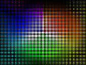 Color Wheel Background Shows Coloring Shade And Pigmen — Stock Photo