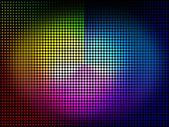 Color Wheel Background Means Colors Hues And Chromati — Stock Photo