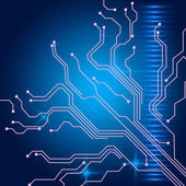 Contact Links Background Shows Electric Circuit Or Interface Wir — Stock Photo