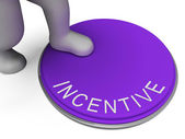 Switch Incentive Shows Induce Inducement And Premium — Stock Photo