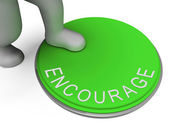 Encourage Switch Indicates Motivate Encouraging And Boost — Stock Photo