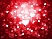 Background Heart Indicates Valentine Day And Backdrop — Stock Photo
