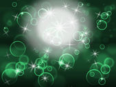Glow Bubbles Represents Light Burst And Abstract — Foto Stock