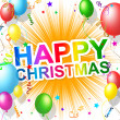 Happy Christmas Means Xmas Greeting And Cheerful — Stock Photo #49085705