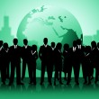 Business People Shows Professionals Planet And Worldly — Stock Photo #49086449