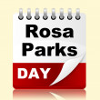 Постер, плакат: Rosa Parks Day Means Black Heritage And America