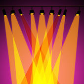 Background Spotlight Represents Stage Lights And Abstract — Foto Stock