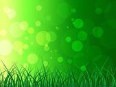 Copyspace Background Represents Green Grass And Backgrounds — 图库照片