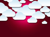 Background Clouds Shows Empty Space And Abstract — Stock Photo