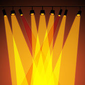 Background Spotlight Represents Stage Lights And Abstract — Stock Photo
