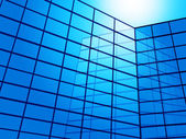 Office Building Shows Blank Space And Backgrounds — Stock Photo